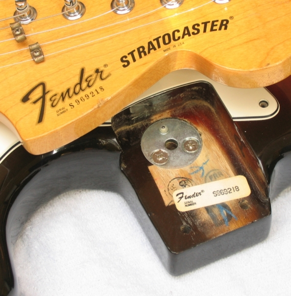 Dating Late 1970's Fender Stratocasters